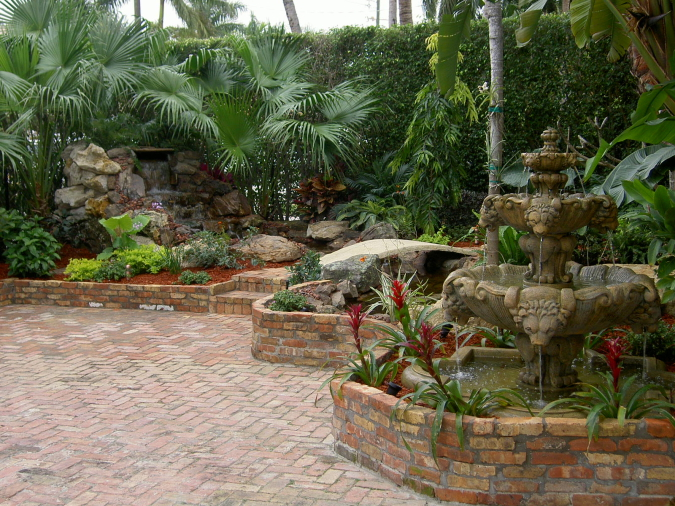 Jd professional landscaping design parkland boca raton for Professional landscape design